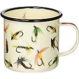 Hook Line & Sinker Enamel Mug, Flies