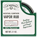 J.R. Watkins Vapor Rub Menthol and Camphor 2.1 Ounce
