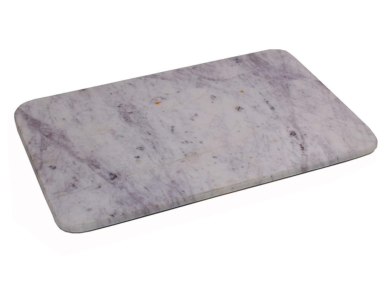 Hashcart - Tabla de cortar de mármol para pan, frutas, verduras, carne y queso