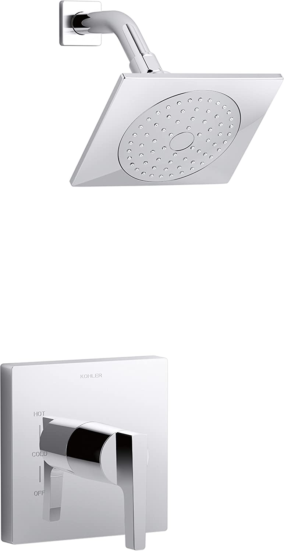 Kohler K 99764 4 CP Rite Temp Shower Trim, Polished Chrome     Amazon.com