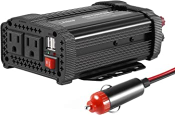 Leshp 400W Power Inverter DC 12V to AC 110V Car Adapter