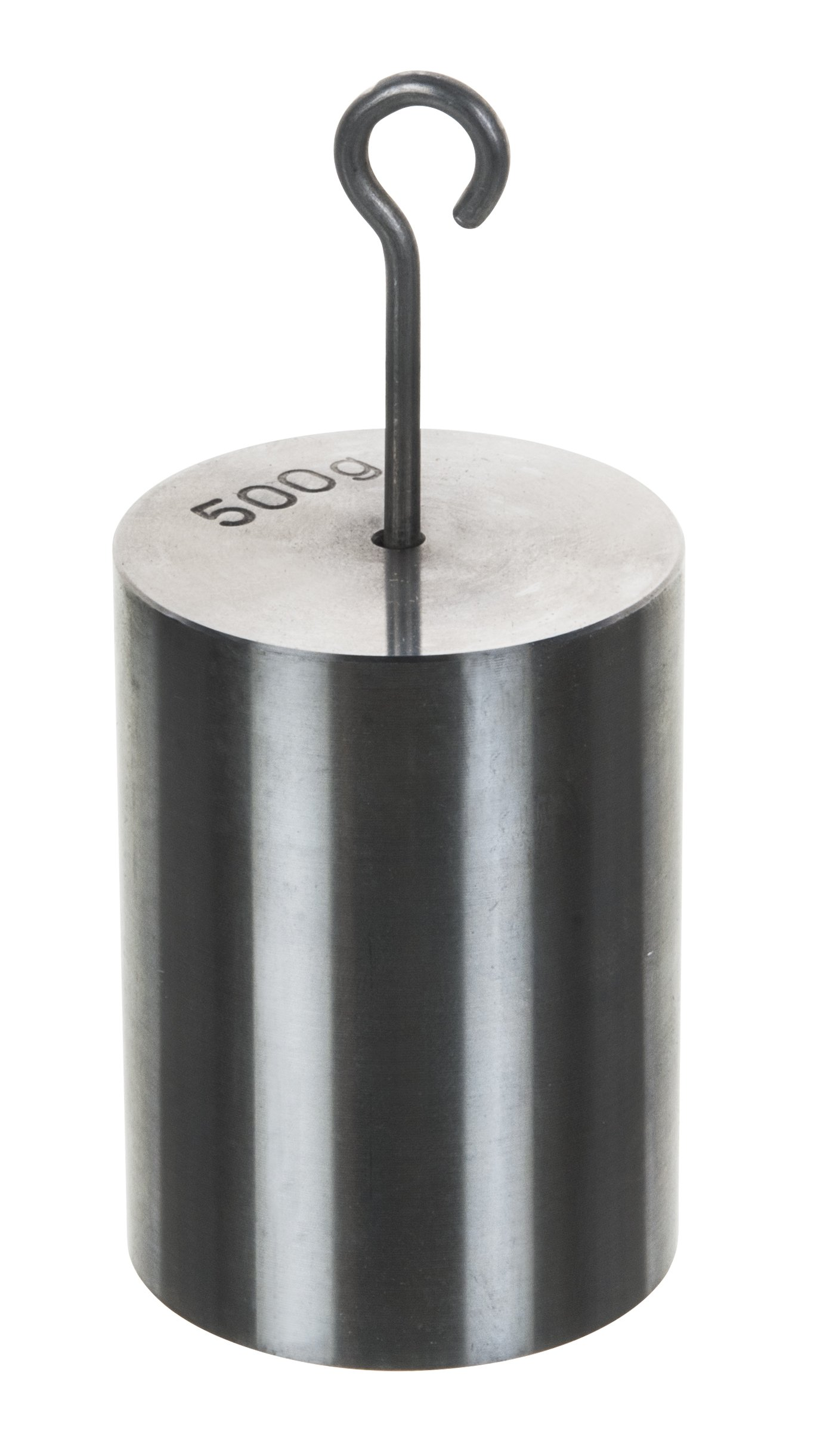 Double Hooked Weight Stainless Steel 500 Grams (1.10 Lbs.) Eisco Labs by EISCO
