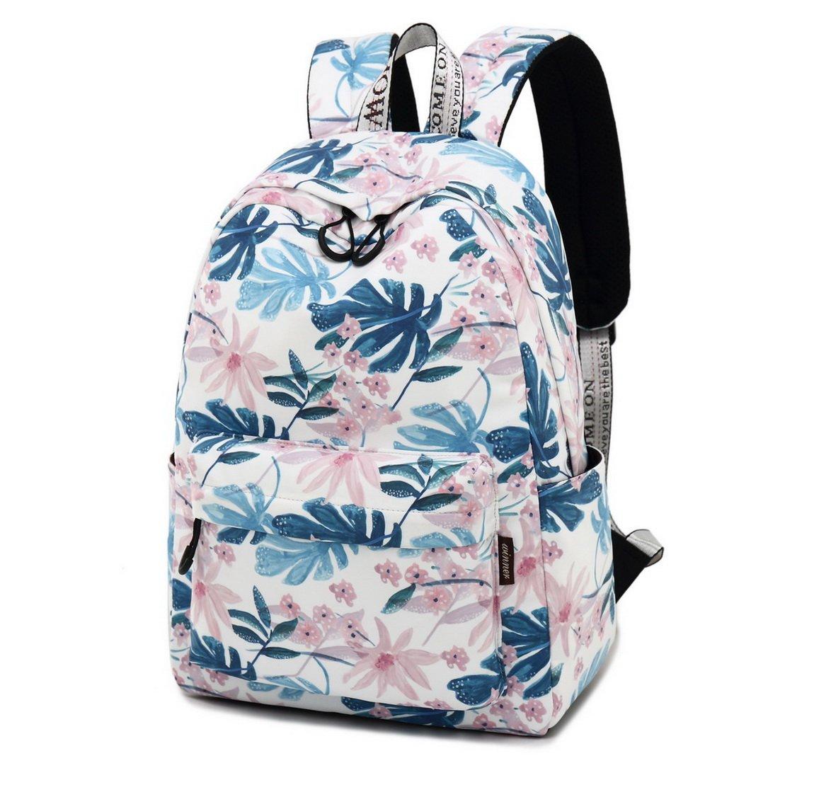 Amazon.com: Joymoze Leisure Backpack for Girls Teenage School Backpack Women Backpack Purse (Cute Flower): Toys & Games