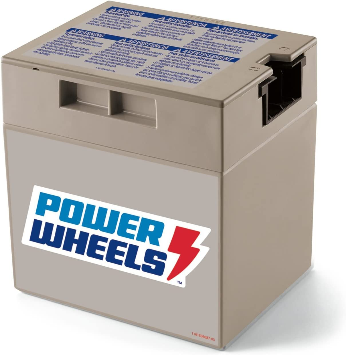 B00004TFT1 Power Wheels 12-Volt Rechargeable Replacement Battery 713szxf5-9L