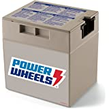 Power Wheels 12-Volt Rechargeable Replacement Battery, Multicolor