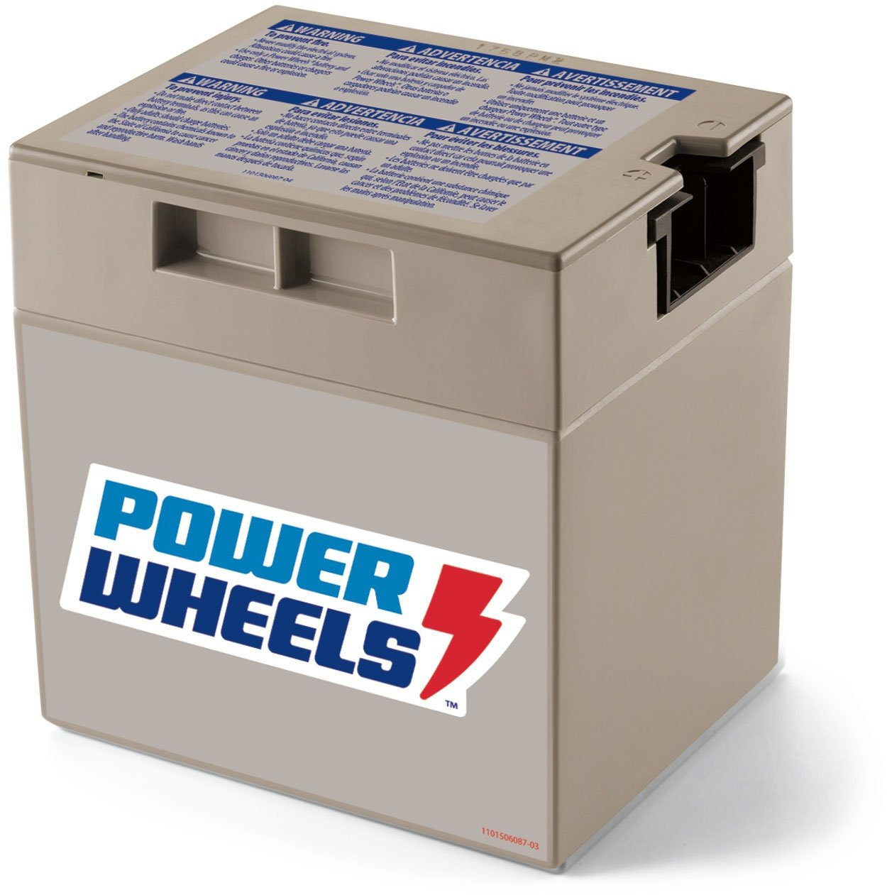 Power Wheels 12-Volt Rechargeable Replacement Battery 74777