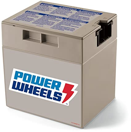 44f903546 Amazon.com  Power Wheels 12-Volt Rechargeable Replacement Battery ...