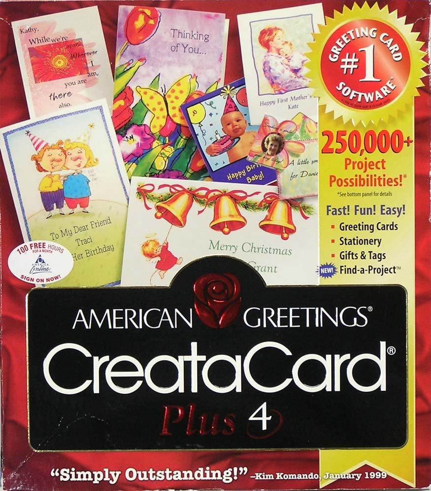 Amazon American Greetings Creatacard Plus 4