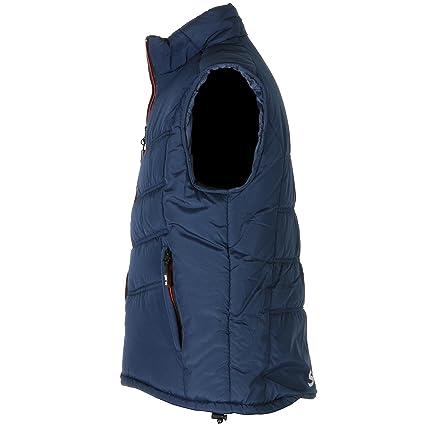 Funsport XL Steppweste Jersey marine-rot Gr Bekleidung & Schutzausrüstung