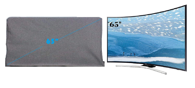 woolf Rib Bio-wash Cotton Fabric MI 65 inch LED TV Cover