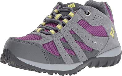 Columbia Childrens Redmond Waterproof, Zapatillas de Senderismo, Impermeable para Niñas, Violeta (Plum, Fresh Kiwi), 28 EU: Amazon.es: Zapatos y complementos