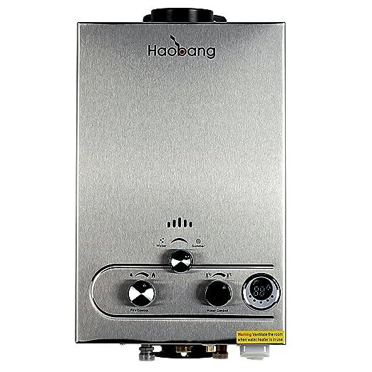 HB Sin tanque calentador de agua Gas patentado de modulación Tecnología JSD12-S02 (NG): Amazon.es: Hogar