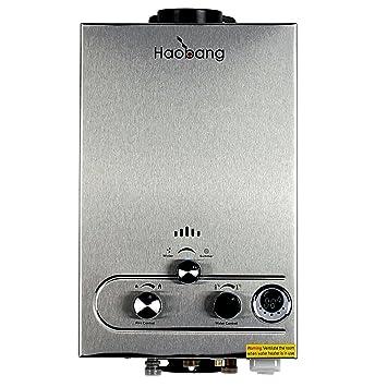 HB Sin tanque calentador de agua Gas patentado de modulación Tecnología JSD12-S02 (NG