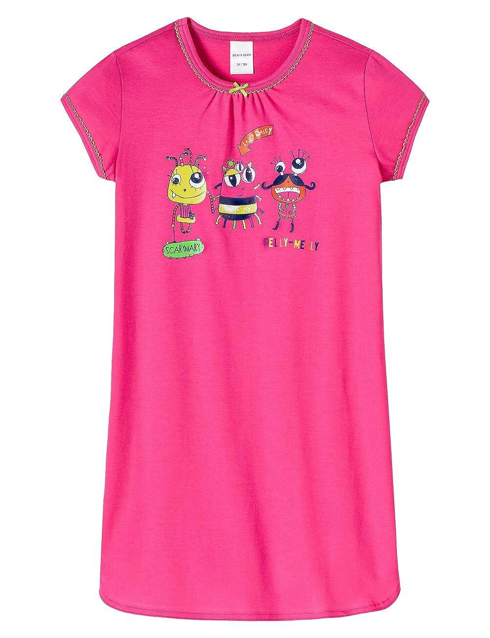 Schiesser Sleepshirt 1//2 Camicia da Notte per Bambine e Ragazze
