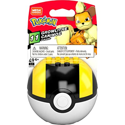 Pokemon Growlithe (Ultra Ball), Multi: Toys & Games