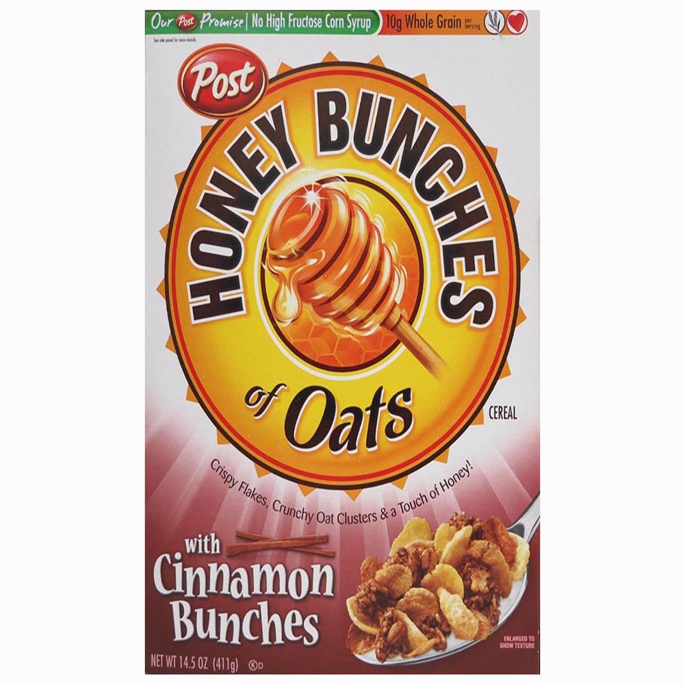 Honey Bunches Of Oats Cinnamon Nutrition Facts - Nutrition