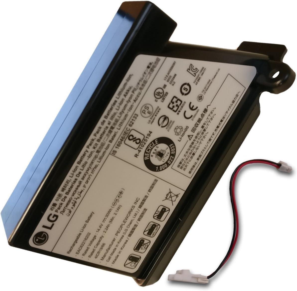 Batería Hom-Bot con cable – Robot aspirador – LG: Amazon.es ...