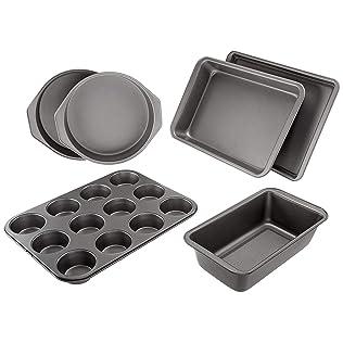 AmazonBasics 6 Piece Nonstick Oven Bakeware Set