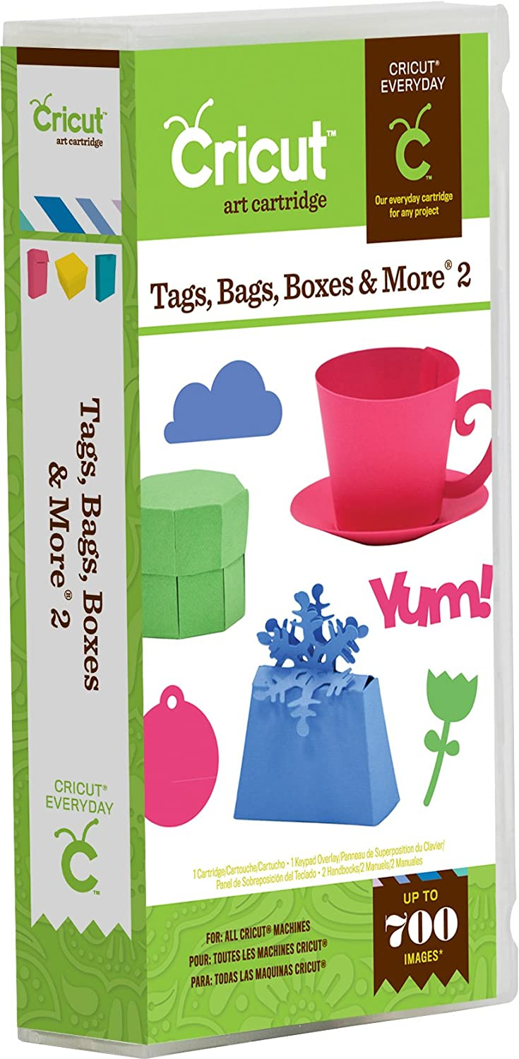 Cricut Cartridge - Tags Bags Boxes and More 2 2001228