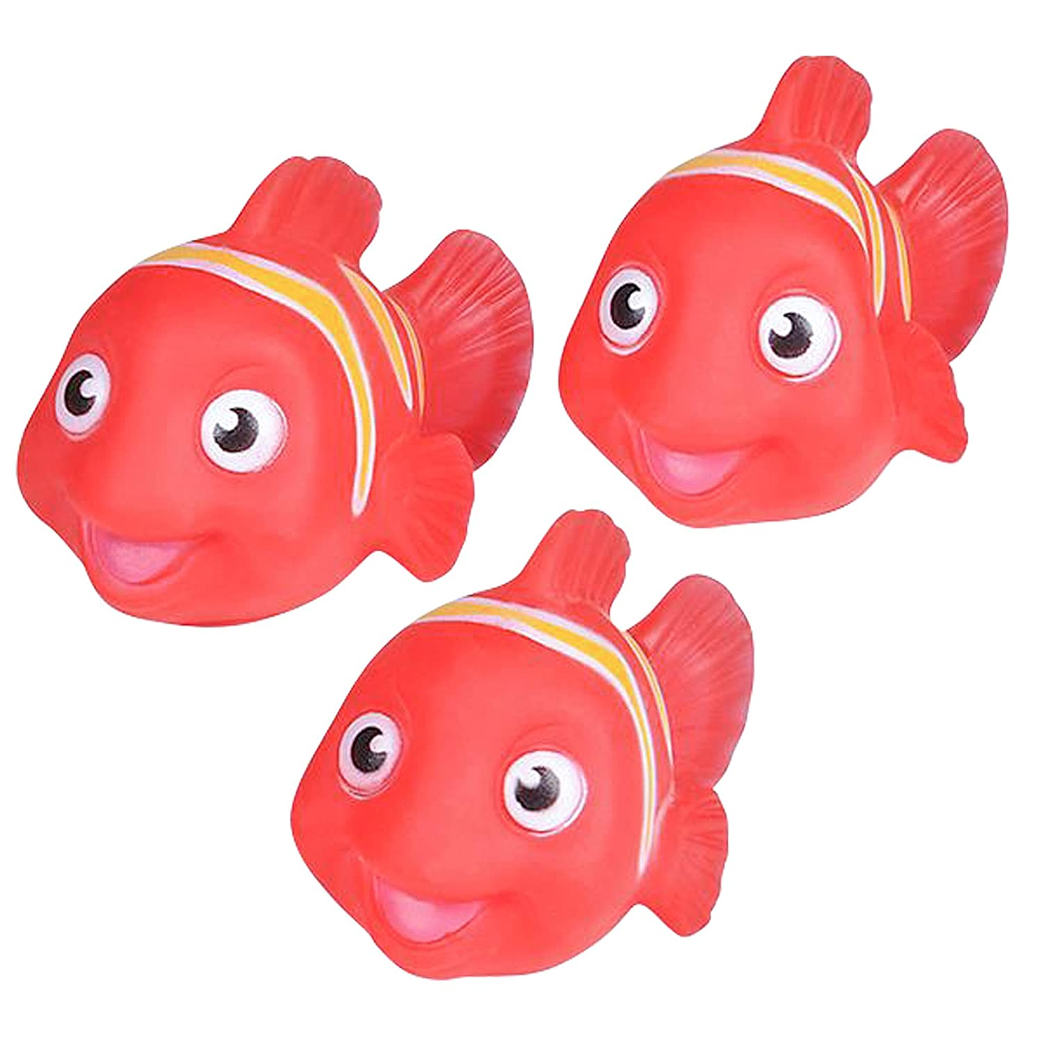 Babies Great Gift Idea for Boys Floating Clownfish Bath Play Set Beach Girls Fun Water Bathtub Toys for Kids Non Toxic Fish Playing Kit for Tub Pool by ArtCreativity 4 Piece Toddlers