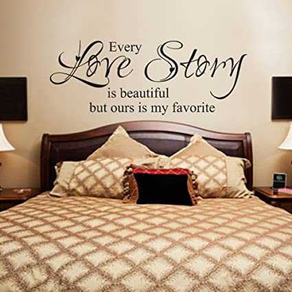 Amazon.com: MairGwall Beautiful Love Wall Decal Quotes Vinyl ...