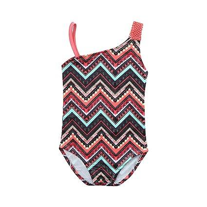Swimwear Summer Sling One-piece Quick-drying Baby Girls Swimwear Cute Ice Cream Dot Swim Beach Bathing Kids Toddler Children Swimsuit