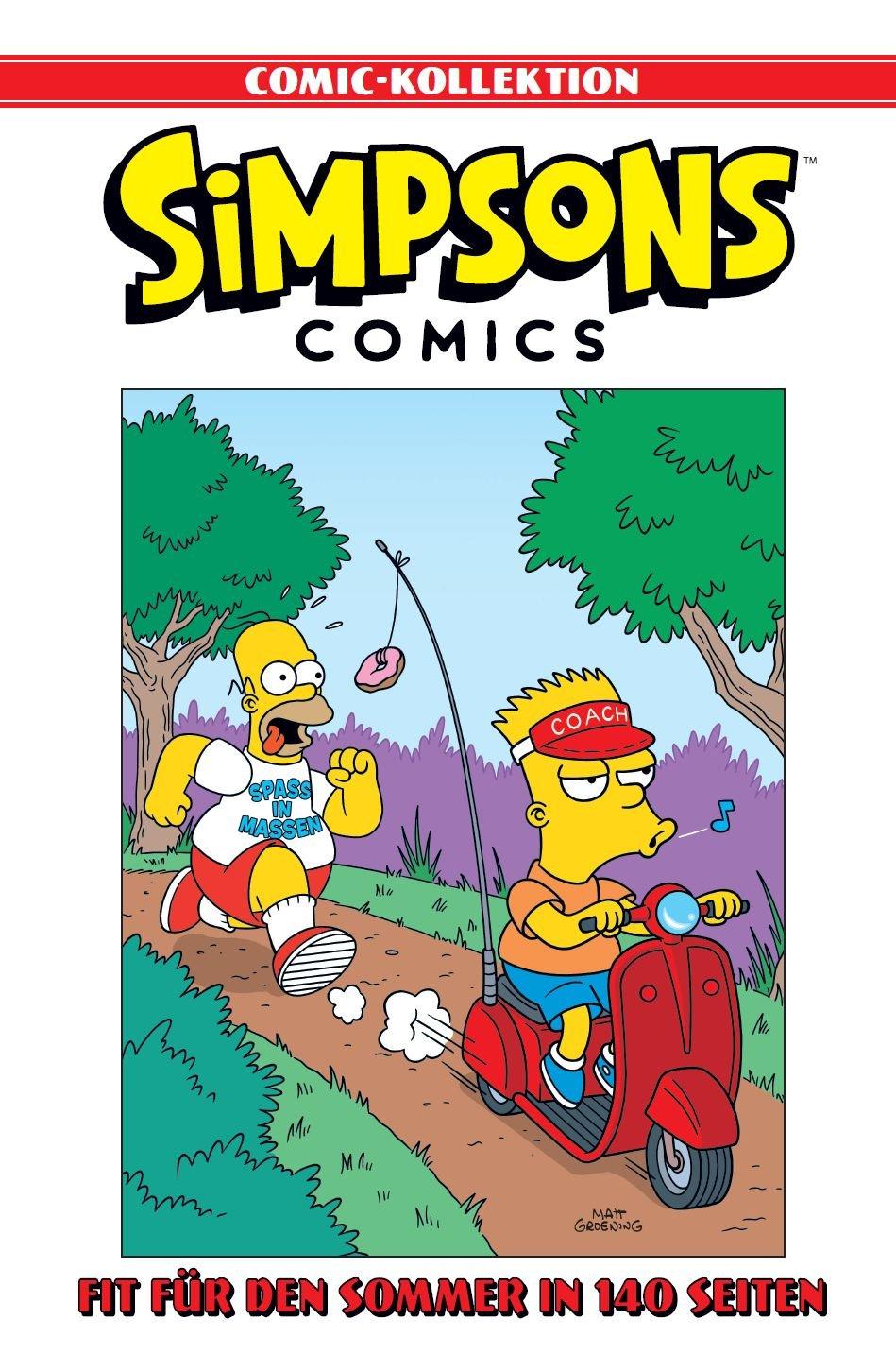 Simpsons Comic-Kollektion: Bd. 4: Fit für den Sommer in 140 Seiten Gebundenes Buch – 8. Mai 2018 Matt Groening Marc Andre Matthias Wieland Panini