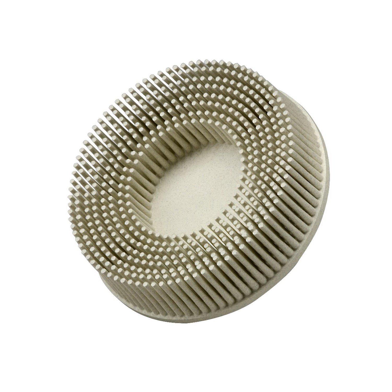3M Roloc Bristle Disc SB18737, Grade 120, Diameter 3'' - 10 Count
