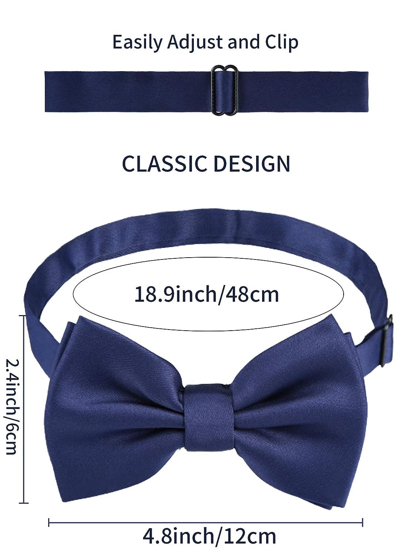 Includono Regolabile Y Schiena Bretelle Clip Elastico Solido Dritto Clip Bretelle Papillon e Cravatta Uomini Bretelle Set