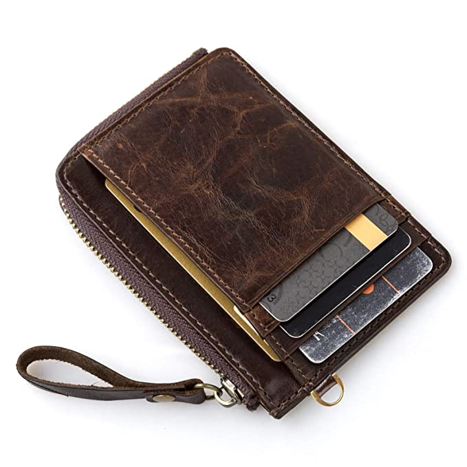 eec5d32c4d36 Slim Mens Wallet Minimalist RFID blocking