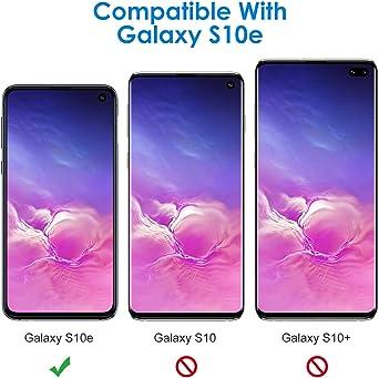 JAWSEU Compatible avec Coque Samsung Galaxy S10e Silicone TPU Souple Housse /Étui Full Protection Shell Placage Avanc/é Marbre Motif Anti-Rayures Coque Bumper Case Anti-Scrach,Rose