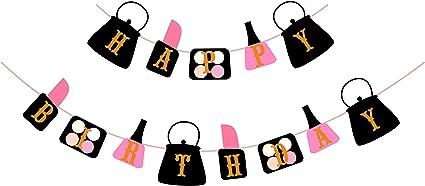 Girls Birthday Banner Girls Spa Party Girls Spa Party Decor Spa Party Birthday Banner Nail Polish Banner