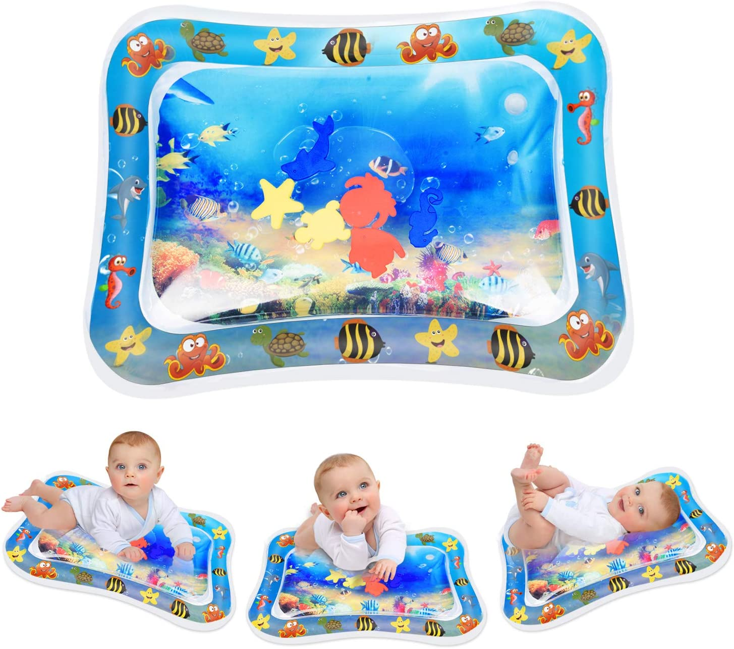 NEW Baby Child Toddler Sit And See Safari Floor Mirror Play Mat