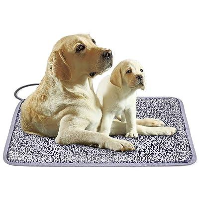 """LUT,Pet Heating Pad,28"""" x 18"""" Dog & Cat Heating Pad Pet Indoor/Outdoor"""