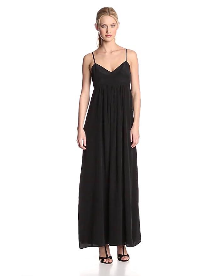 Amazon.com: Amanda Uprichard Women\'s Silk Gown Maxi Dress: Clothing