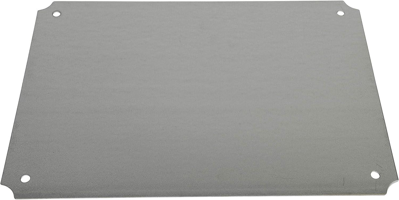 BUD Industries PTQ-11050-C Pc 10Percentfiberglass Hinged Enclosure Clear Cover Ip67 Grey Inc