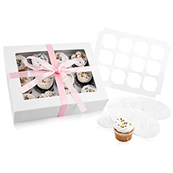 Bakery Disposable Cupcake Box