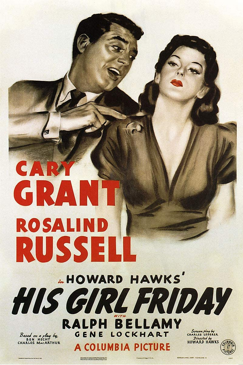 Amazon.com: American Gift Services - His Girl Friday Cary Grant ...