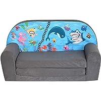 Fortisline Mini-canapé Fille Sofa garçon Fauteuil Enfant Motif Ocean 2 W386_11