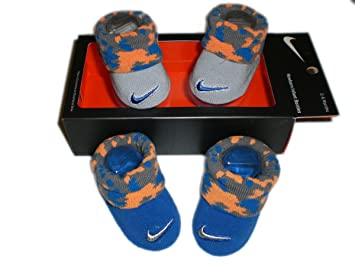 Nike Futura Size 0-6M 2 Pair Infant Booties