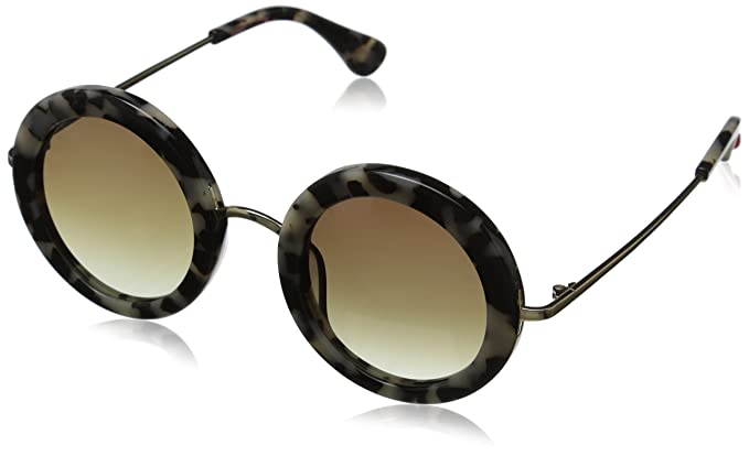 653de9dec6a Betsey Johnson Women s Julia Round Sunglasses