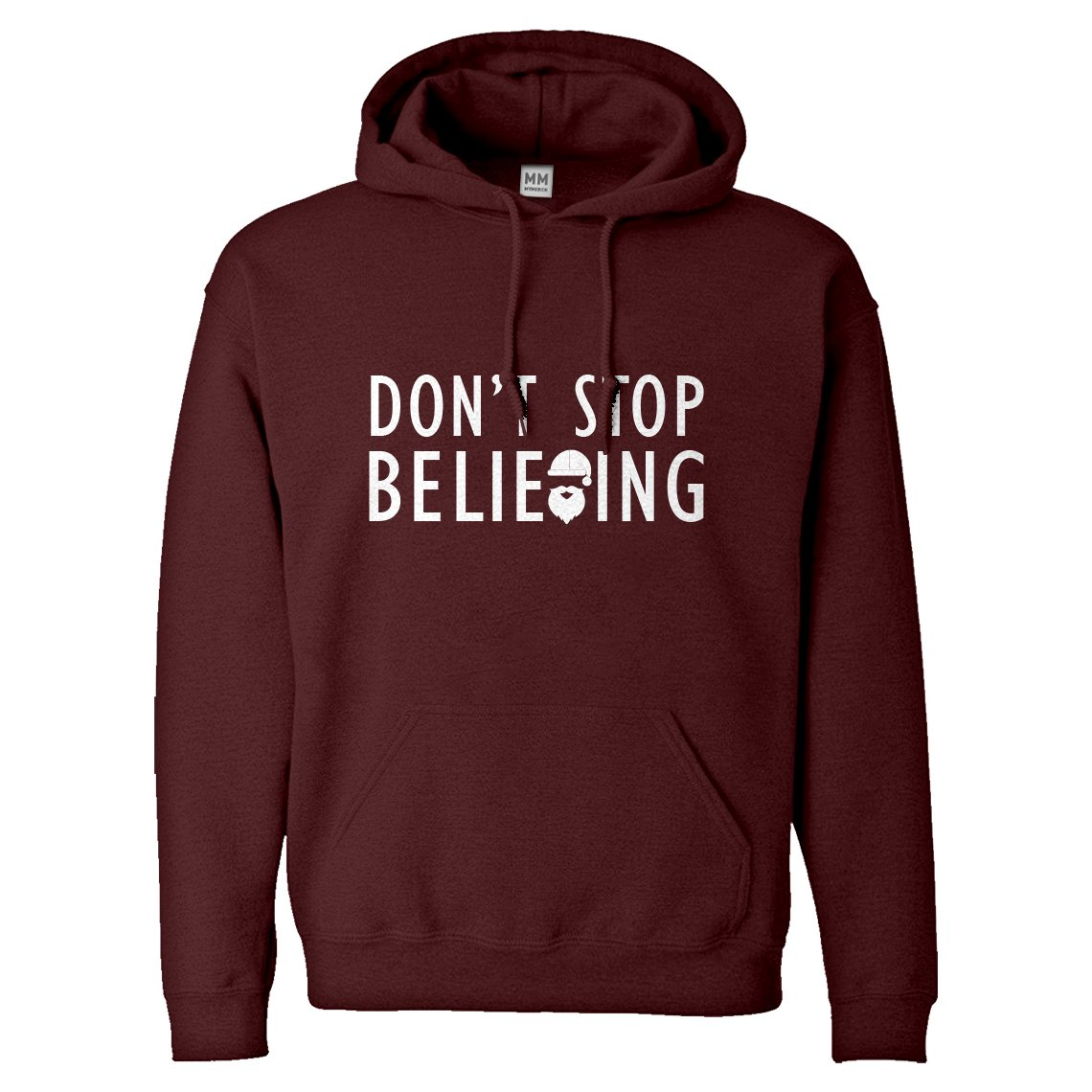 Indica Plateau Dont Stop Believing Unisex Adult Hoodie