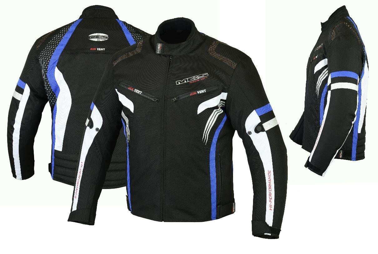 rojo, 4XL MBSmoto MJ22 Max Motorcycle Motorbike Short Textile Chaqueta deportiva