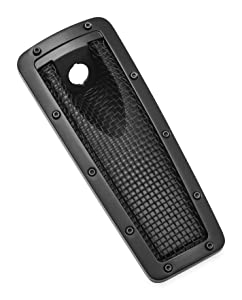 Kuryakyn 6508 Mesh Dash Insert for Ultra, Limited, Tri Glide, Satin Black
