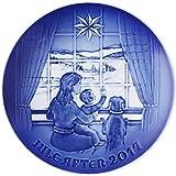 Royal Copenhagen 1021113 Collectibles Series B&G - Piatto natalizio in porcellana, multicolore