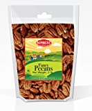 SUNBEST Fancy Georgia Raw Shelled Pecans, Pecan Halves, JUMBO, Unsalted, 2 lbs, No Shell in Resealable Bag