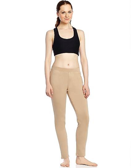 81166f438d629 Leveret Women's Pants Fitted Yoga Pants Workout Legging 100% Cotton ...