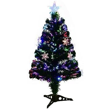 COSTWAY LED Weihnachtsbaum Künstlicher Tannenbaum Christbaum ...