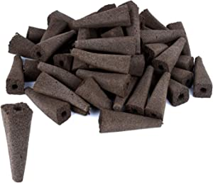 moistenland Replacement Grow Sponges(50 Pack) for Aerogardens, Compatible with AeroGarden Seed Pods,Seed Starter Sponge Pods for Hydroponic Indoor Garden System
