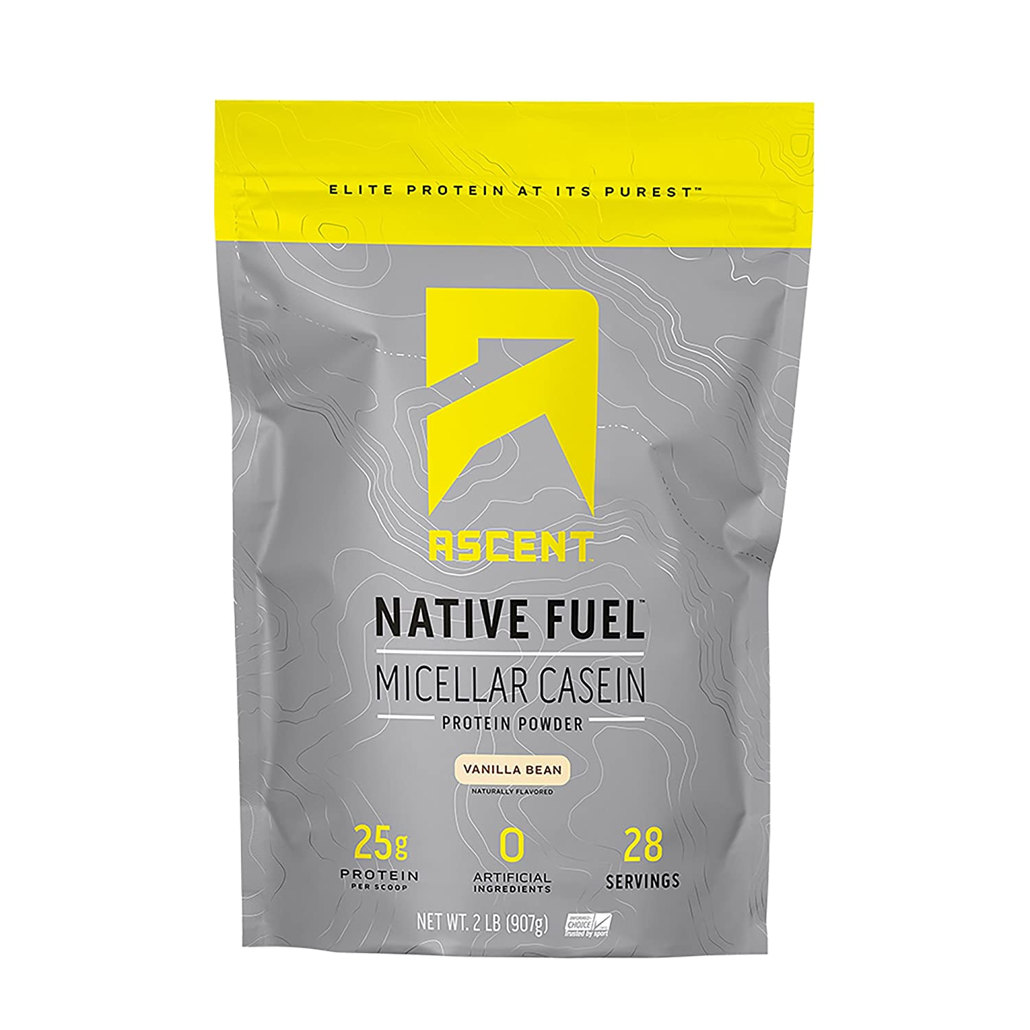 Ascent Native Fuel Micellar Casein Protein Powder